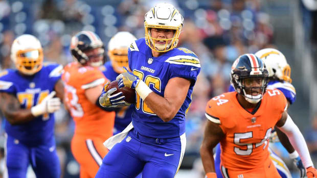 Chargers avoid 4 quarter struggles with win over Broncos IMAGE