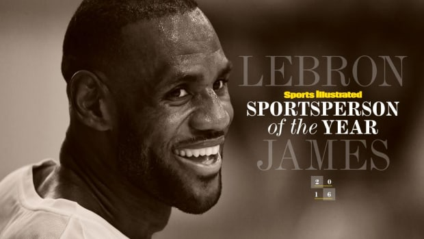 LeBron James SI's 2016 Sportsperson of the Year IMG