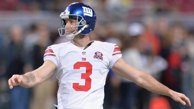 Giants cut kicker Josh Brown - IMAGE