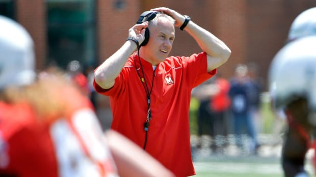 The right man for Maryland? Terps coach D.J. Durkin on his new job and playing one-on-one versus Jim Harbaugh