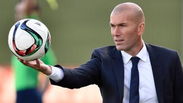 Real Madrid sacks manager Rafa Benitez; Zinedine Zidane takes over--IMAGE