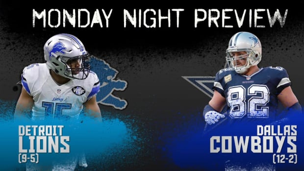 Monday Night preview: Lions vs. Cowboys IMAGE
