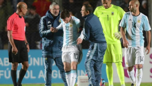 Lionel Messi won't start in Argentina's Copa America opener - IMAGE