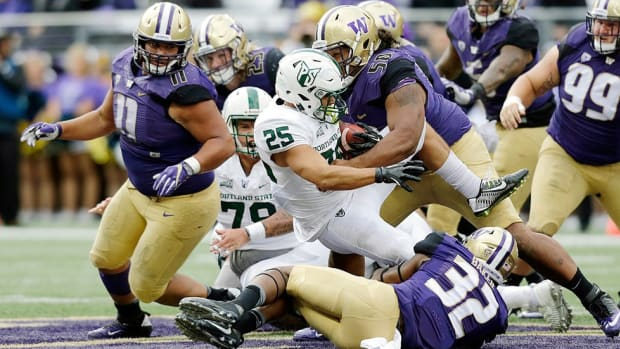Super-sized: With personalities, athleticism as abundant as their frames, Washington's D-line drives Huskies' rise
