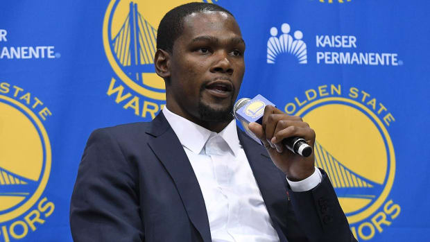 "Kevin Durant: Going to Warriors 'best decision for me"" - IMAGE"