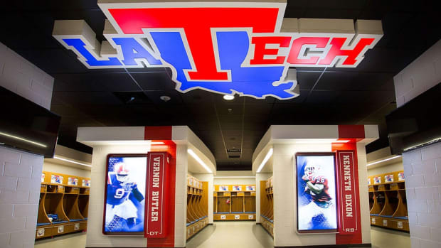 Louisiana Tech goes for 'wow' factor with shiny new football facilities, modern locker room