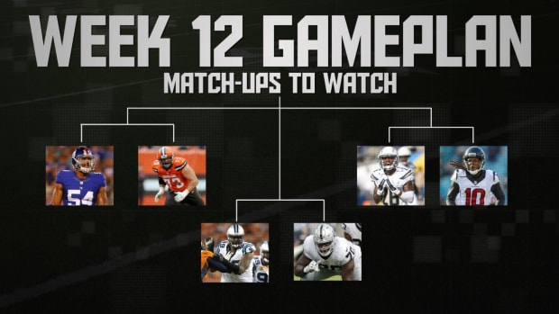 NFL's Week 12 Gameplan IMAGE