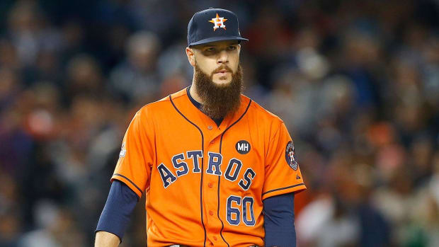 Astros ace Dallas Keuchel could miss remainder of season IMAGE