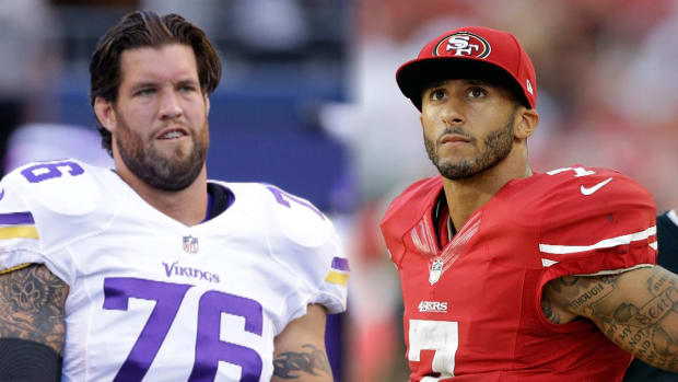 Ex-49er Alex Boone rips Colin Kaepernick over National Anthem stance IMAGE