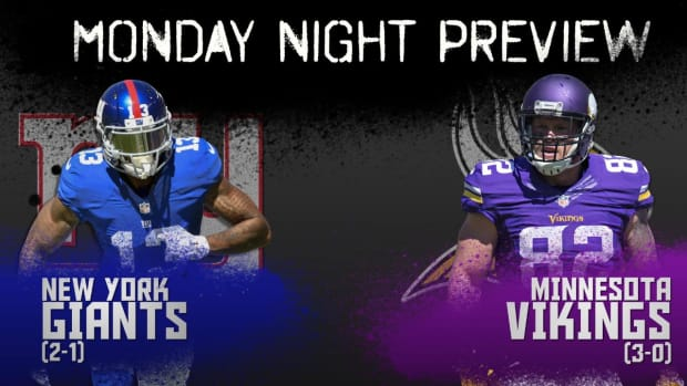 Monday Night preview: Giants vs. Vikings IMAGE
