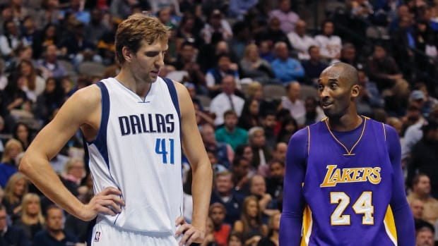 Watch: Kobe Bryant once recruited Dirk Nowitzki to join Lakers -- IMAGE