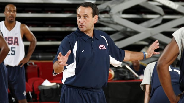 Surgery won't keep Coach K from coaching Olympics--IMAGE