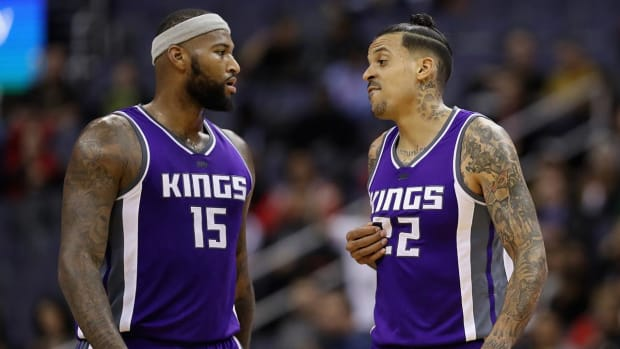 Kings' Barnes, Cousins sued over alleged nightclub fight - IMAGE