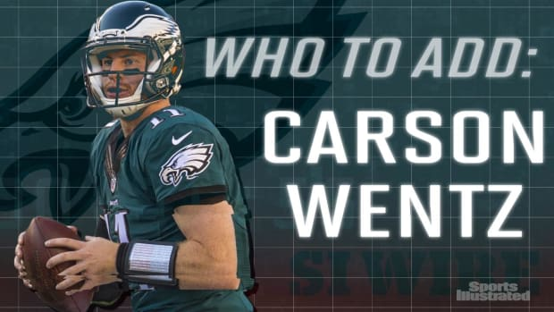 Week 5 Waiver Wire add: Carson Wentz - IMAGE