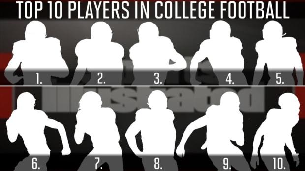 Who are the top 10 players in college football? IMAGE