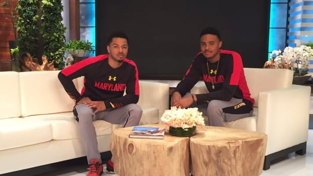 Q&A with Maryland's Jaylen Brantley & Jared Nickens on Ellen appearance, the Running Man Challenge & more