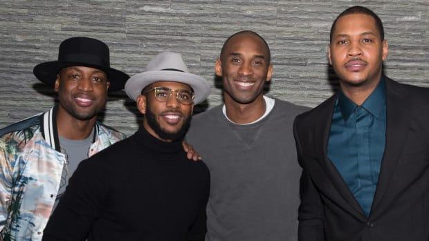 Dwayne Wade gave Kobe Bryant Netflix for retirement -- IMAGE