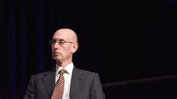 NBA commissioner Adam Silver comments on national anthem protest--IMAGE