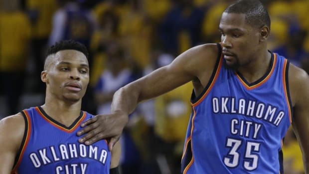 Kevin Durant: Relationship with Russell Westbrook won't be the same - IMAGE