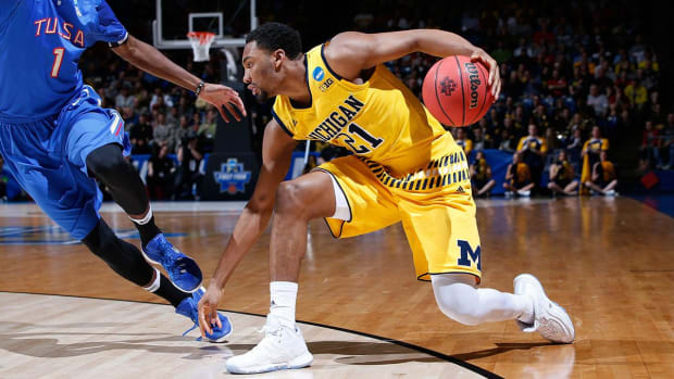 Michigan holds off Tulsa in last game of First Four - IMAGE
