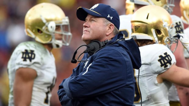 Report: Brian Kelly looking into job options beyond Notre Dame--IMAGE