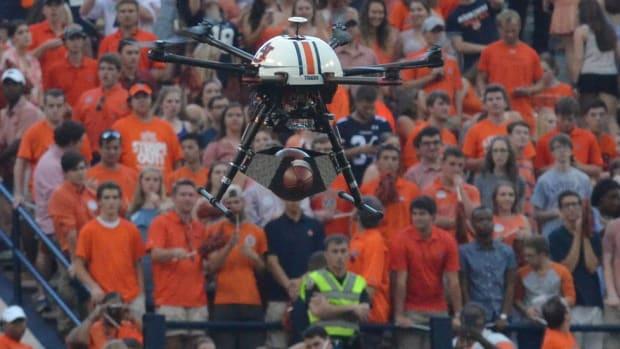 War Damn ... Drone? Inside Auburn's unique decision to include a drone into its famed pregame ritual