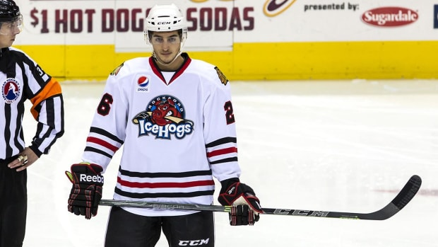 Report: Blackhawks prospect facing 'revenge porn' charge IMAGE