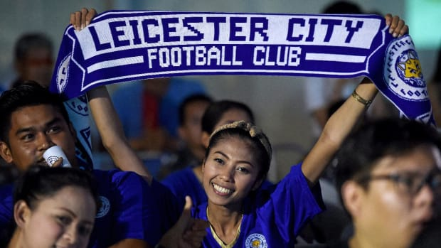 Leicester City claim first Premier League title -- IMAGE