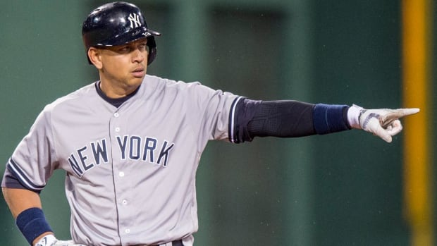 Alex Rodriguez retiring, taking position with Yankees--IMAGE