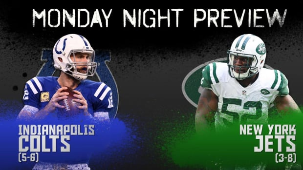 Monday Night preview: Colts vs. Jets IMAGE