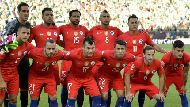 Chile bounces Mexico from Copa America with 7-0 thrashing -- IMAGE