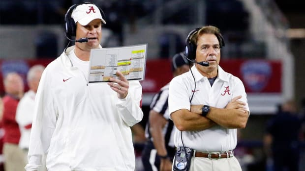 What has Nick Saban learned from Lane Kiffin? For Kiffin to get a head-coaching job, he must prove what he's learned
