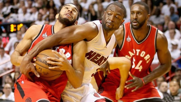 Heat looking for a fight in Game 7 against Raptors -- IMAGE