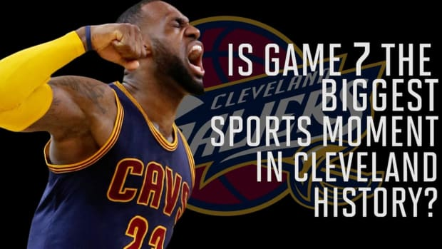 Is Game 7 the biggest moment in Cleveland sports history? -- IMAGE