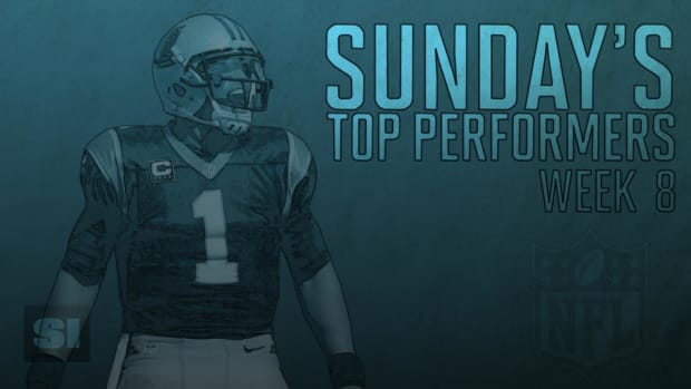 Sunday's Top Performers: Week 8 IMAGE