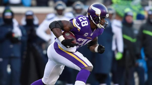 Vikings' Adrian Peterson to play on Sunday vs. Colts - IMAGE