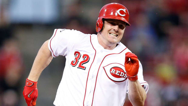 Reds trade OF Jay Bruce to Mets - IMAGE