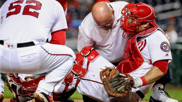 Nationals' Wilson Ramos has torn ACL - IMAGE