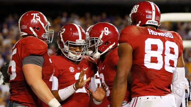 Alabama, Ohio State, Michigan, Clemson top College Football Playoff rankings -- IMAGE