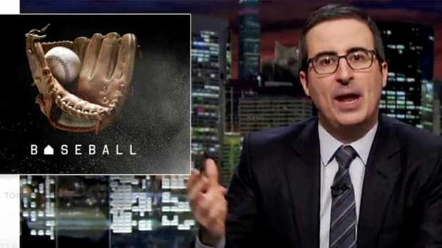 John Oliver calls out Yankees for 'elitist' ticket policy - IMAGE