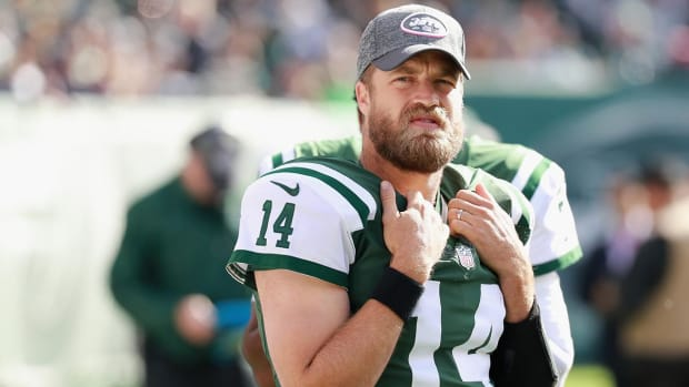Todd Bowles fine with 'pissed off' Ryan Fitzpatrick - IMAGE