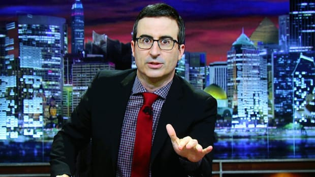 John Oliver takes aim at Olympic doping on 'Last Week Tonight' - IMAGE