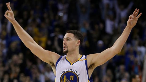 Klay Thompson scores career-high 60 points in Warriors' blowout - IMAGE