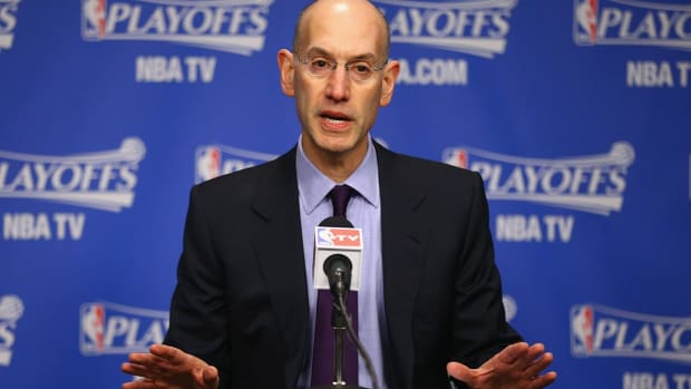 Adam Silver: Kevin Durant to Warriors not 'ideal' for NBA - IMAGE