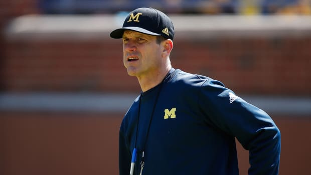 Jim Harbaugh tweets after 49ers fire Tomsula - IMAGE