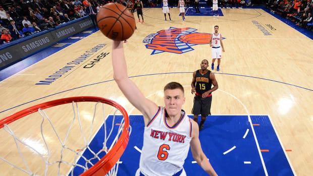 Kevin Durant: Kristaps Porzingis a basketball 'unicorn' - IMAGE