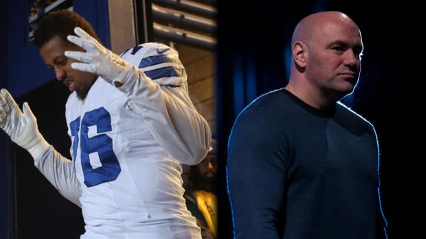 Dana White won't rule out Greg Hardy fighting in UFC - IMAGE