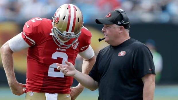 Chip Kelly says he will evaluate 49ers quarterback situation - IMAGE