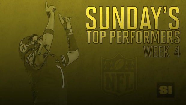 Sunday's top performers: Week 4 IMAGE