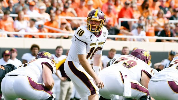 The smartest guy on the field: Central Michigan's Cooper Rush has brains to be NFL QB, but will that be enough?